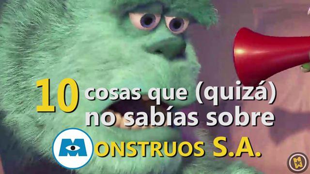 'Monstruos, S.A.': 10 curiosidades sobre la película de Pixar por el 15 aniversario de su estreno