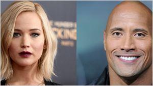 Jennifer Lawrence y Dwayne Johnson son los actores mejor pagados de 2016