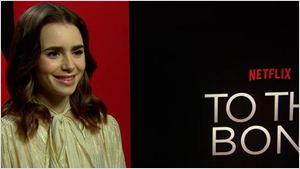 """Lily Collins de 'Hasta los huesos': """"Espero que esta película haga por nosotros lo que hizo 'Por trece razones' por los jóvenes suicidas"""""""