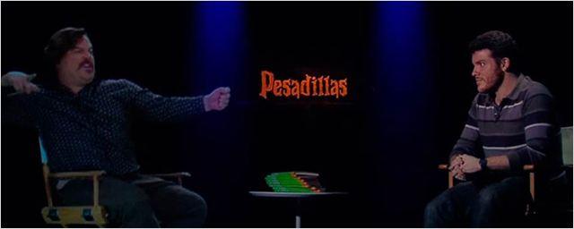 'Pesadillas': Mira nuestra divertida entrevista holográfica con Jack Black