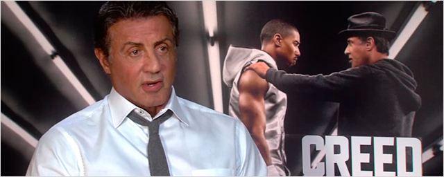'Creed. La leyenda de Rocky': Entrevistamos en vídeo al nominado al Oscar Sylvester Stallone