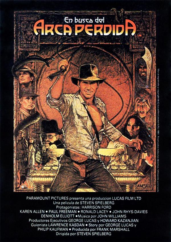 En busca del arca perdida pel cula 1981 for En busca del arca perdida