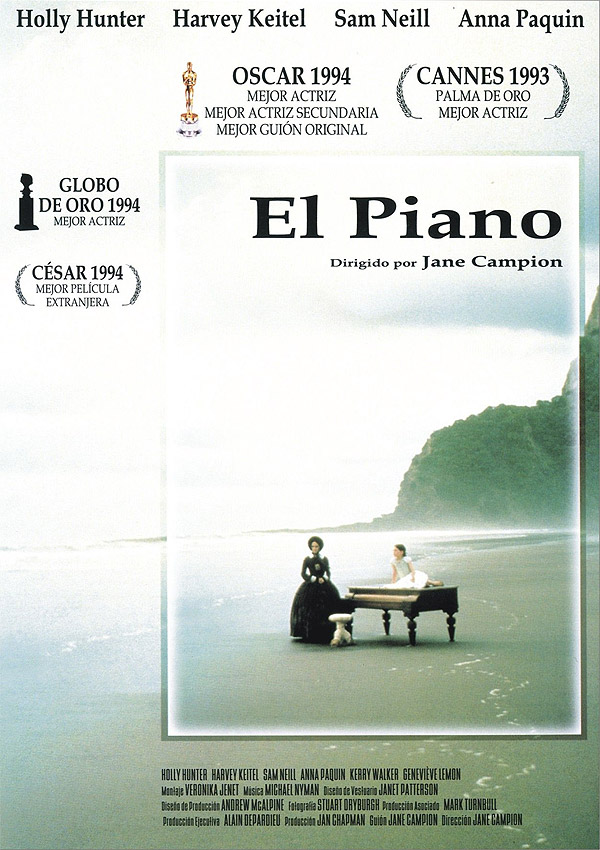 El Piano Película 1993 Sensacine Com