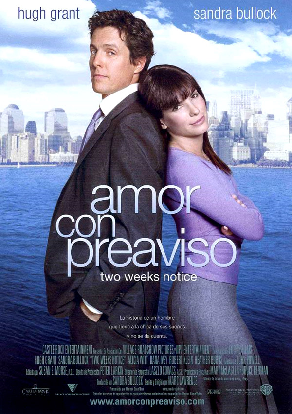póster de Amor con preaviso