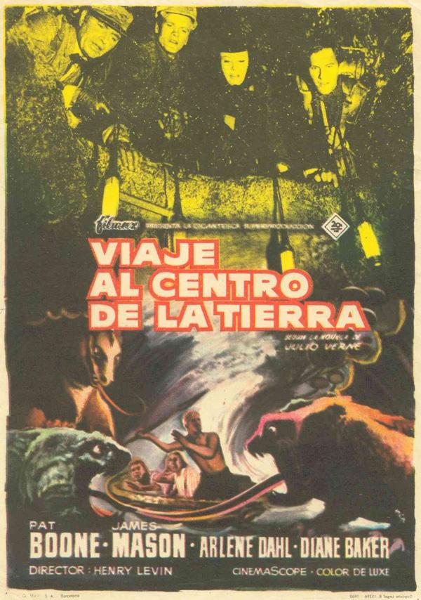 Viaje Al Centro De La Tierra Película 1959 Sensacine Com