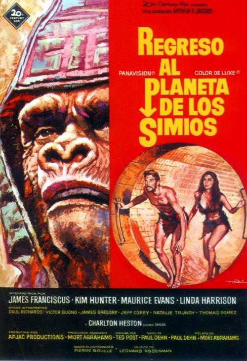 Bajo El Planeta De Los Simios (1970) [DVDRip] [Latino] [1 Link] [MEGA]