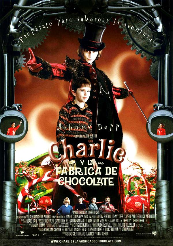 Cartel de Charlie y la fábrica de chocolate - Poster 2