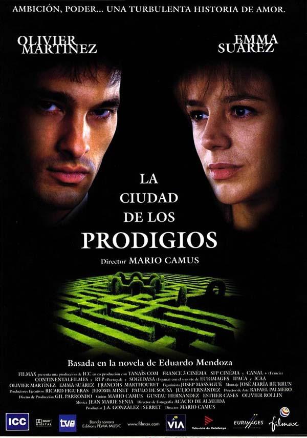 La ciudad de los prodigios - Película 1999 - SensaCine.com