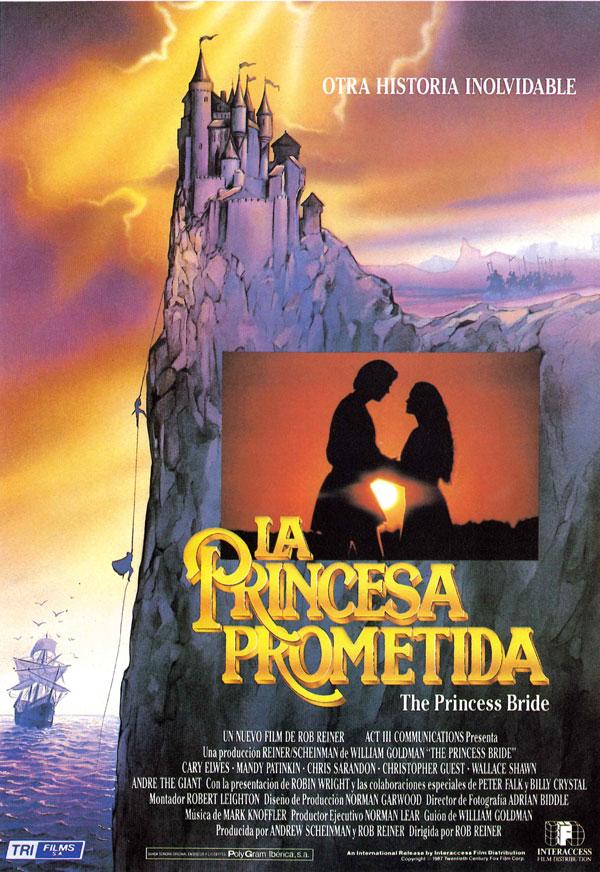 Resultado de imagen de la princesa prometida