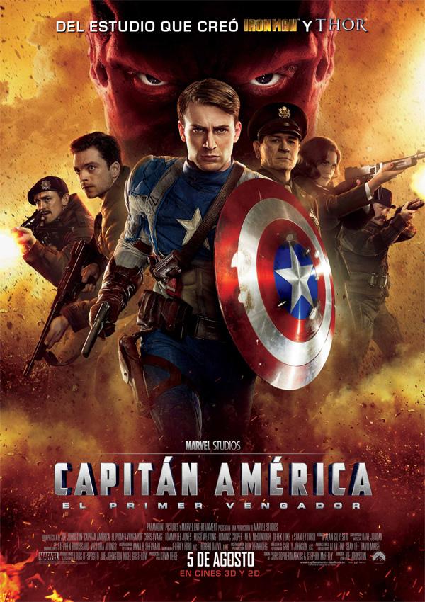 Capitán América El Primer Vengador Película 2011 Sensacine Com