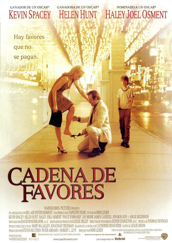 Cadena de favores - Película 2000 - SensaCine.com