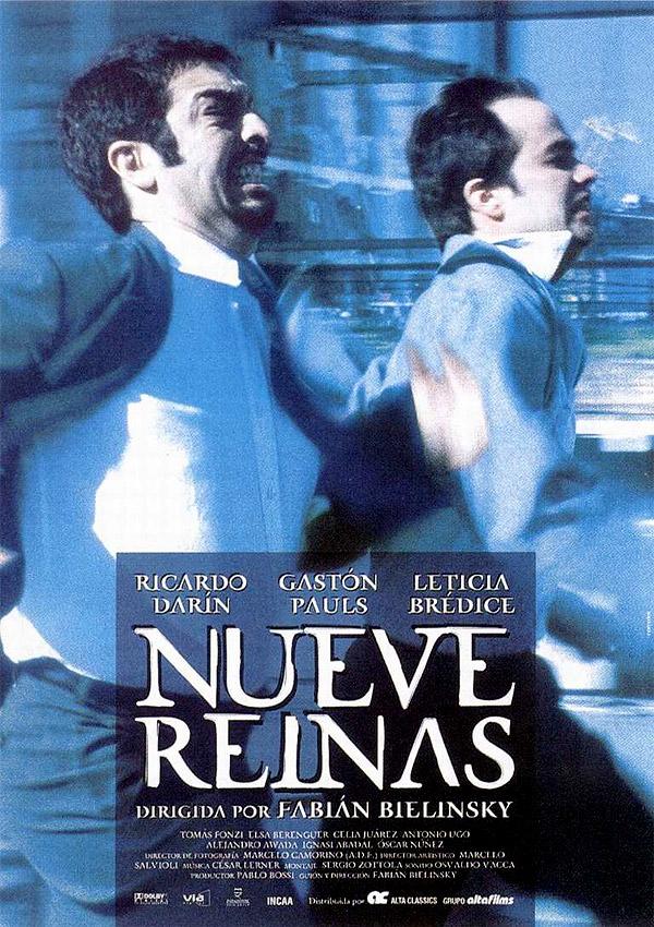 Ver Nueve Reinas Online (2000) Nine Queens Gratis HD Pelicula Completa