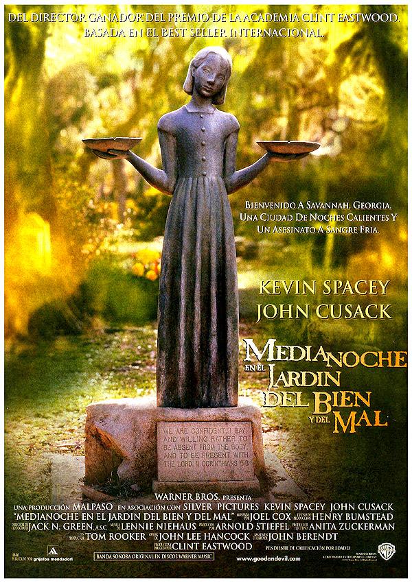 Medianoche en el jard n del bien y del mal 3 an cdotas y for Banda sonora de el jardin secreto
