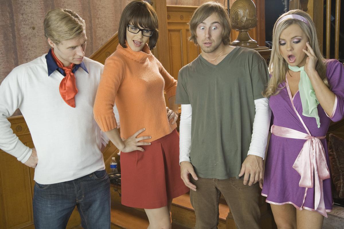 Scooby doo parodia porno