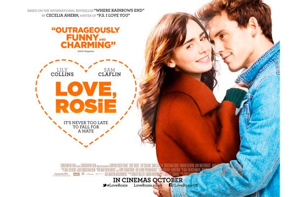 'Love, Rosie': ¡Nuevo póster de 'Donde termina el arco ...