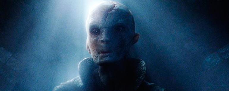 Resultado de imagen para Nuevas imágenes del Líder Supremo Snoke