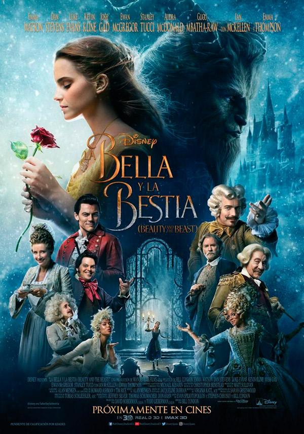 El cine del teatro Cervantes estrena este fin de semana 'La Bella y la Bestia'