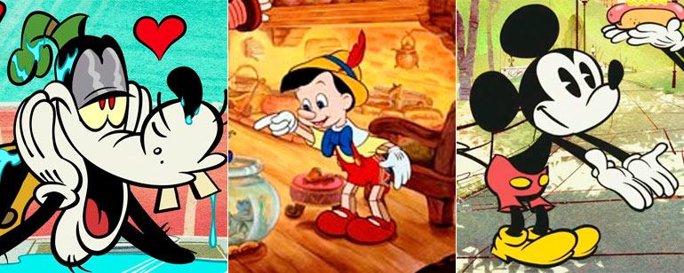Esta es la razón por la que muchos personajes de Disney llevan guantes blancos