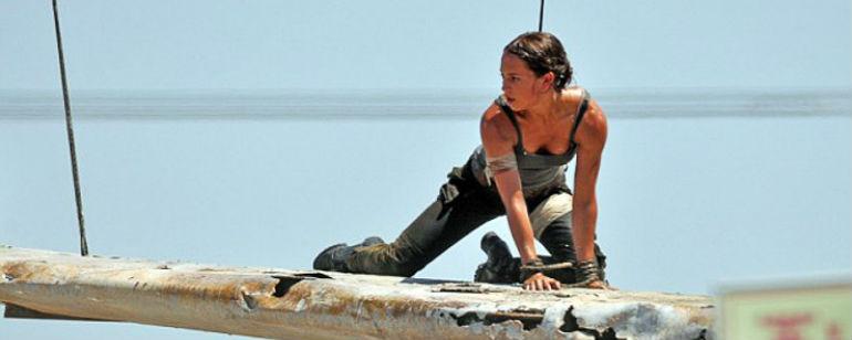 'Tomb Raider': primeras fotos de Alicia Vikander como Lara Croft