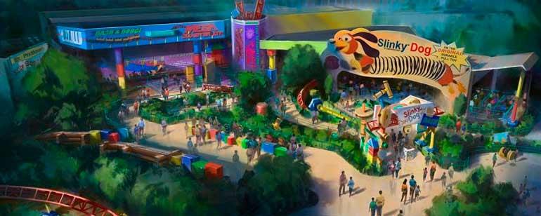 'Toy Story' tendrá su propio parque temático dentro de Disney World en verano de 2018