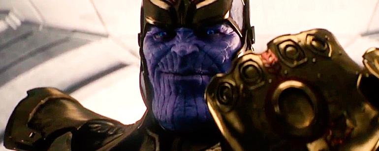 Comic Con 2017: El nuevo póster de 'Vengadores: Infinity War' muestra a Thanos y la Orden negra