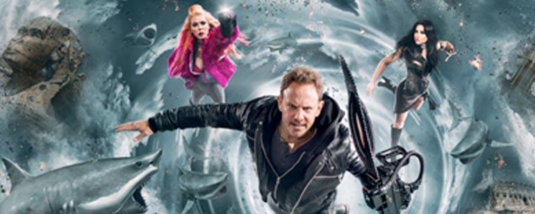 'Sharknado 5': Tara Reid revela que la nueva película contará con viajes en el tiempo