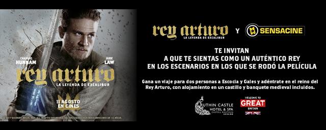 BASES LEGALES: CONCURSO DE 'REY ARTURO: LA LEYENDA DE EXCALIBUR'
