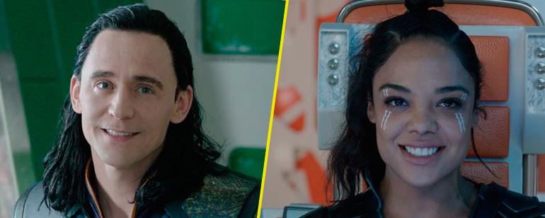 'Thor: Ragnarok': Valquiria y Loki, enfrentados en la nueva imagen de la película