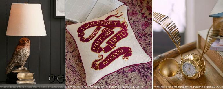 'Harry Potter': esta línea de decoración llevará la magia de Hogwarts a tu casa