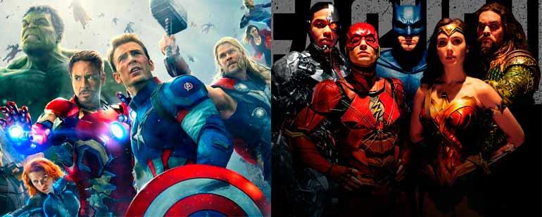 Esta infografía explica las diferencias entre los fans de Marvel y los de DC