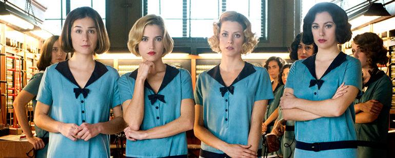 Las Protagonistas De Las Chicas Del Cable Confirman Que La Tercera