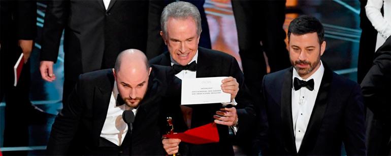 Oscar 2018: La auditora PricewaterhouseCoopers toma medidas para que no se repita la metedura de pata de 'La La Land'