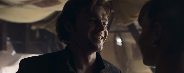 'Han Solo: Una historia de Star Wars': Primer y emocionante tráiler del nuevo 'spin-off' de la saga galáctica