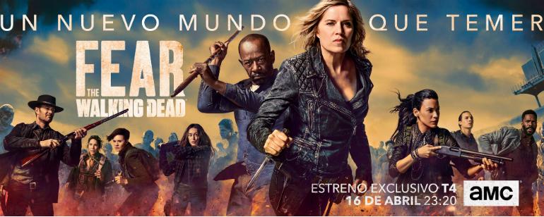 La cuarta temporada de \'Fear The Walking Dead\' se estrena esta noche ...