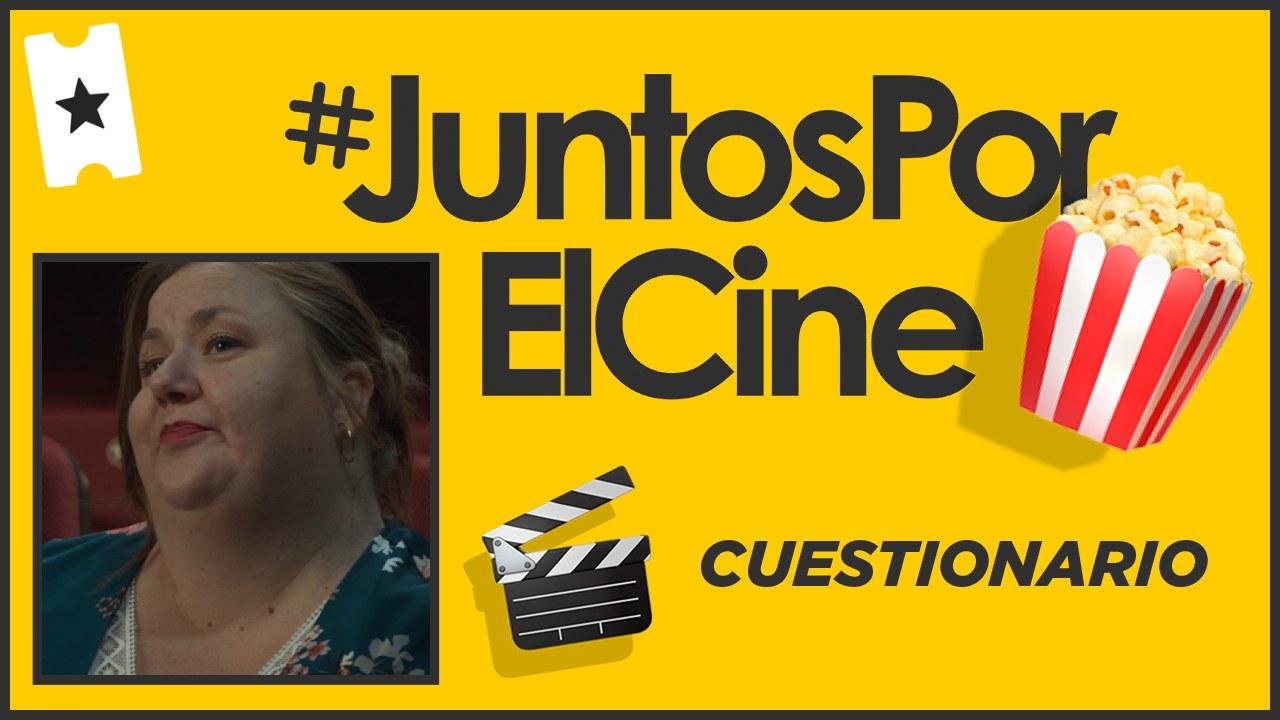 """Itziar Castro: """"Recuerdo ver a gente muy diferente unida para ver una película de Almodóvar. Eso es algo mágico"""" · #JuntosPorElCine"""