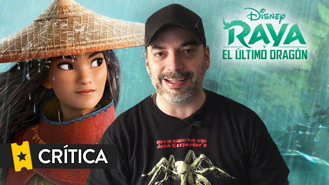 Crítica 'Raya y el último dragón': Una entretenida aventura de Disney con estructura de videojuego y un mensaje optimista