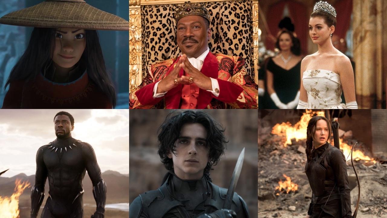 'Raya y el último dragón', 'El rey de Zamunda' y otras 10 películas con mundos ficticios