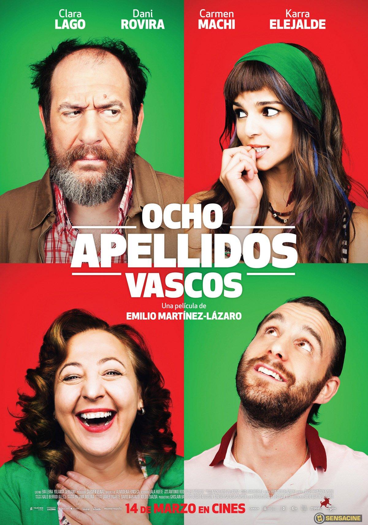 Ocho Apellidos Vascos - Película 2014 - SensaCine.com