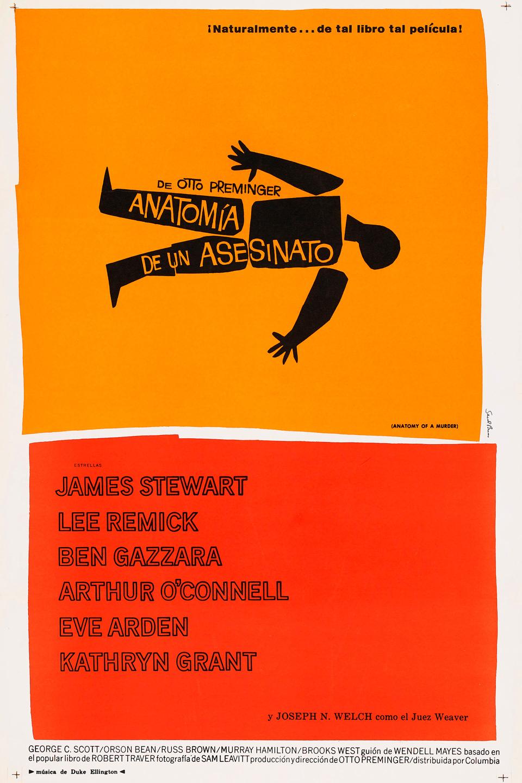 Anatomía de un asesinato - Película 1959 - SensaCine.com