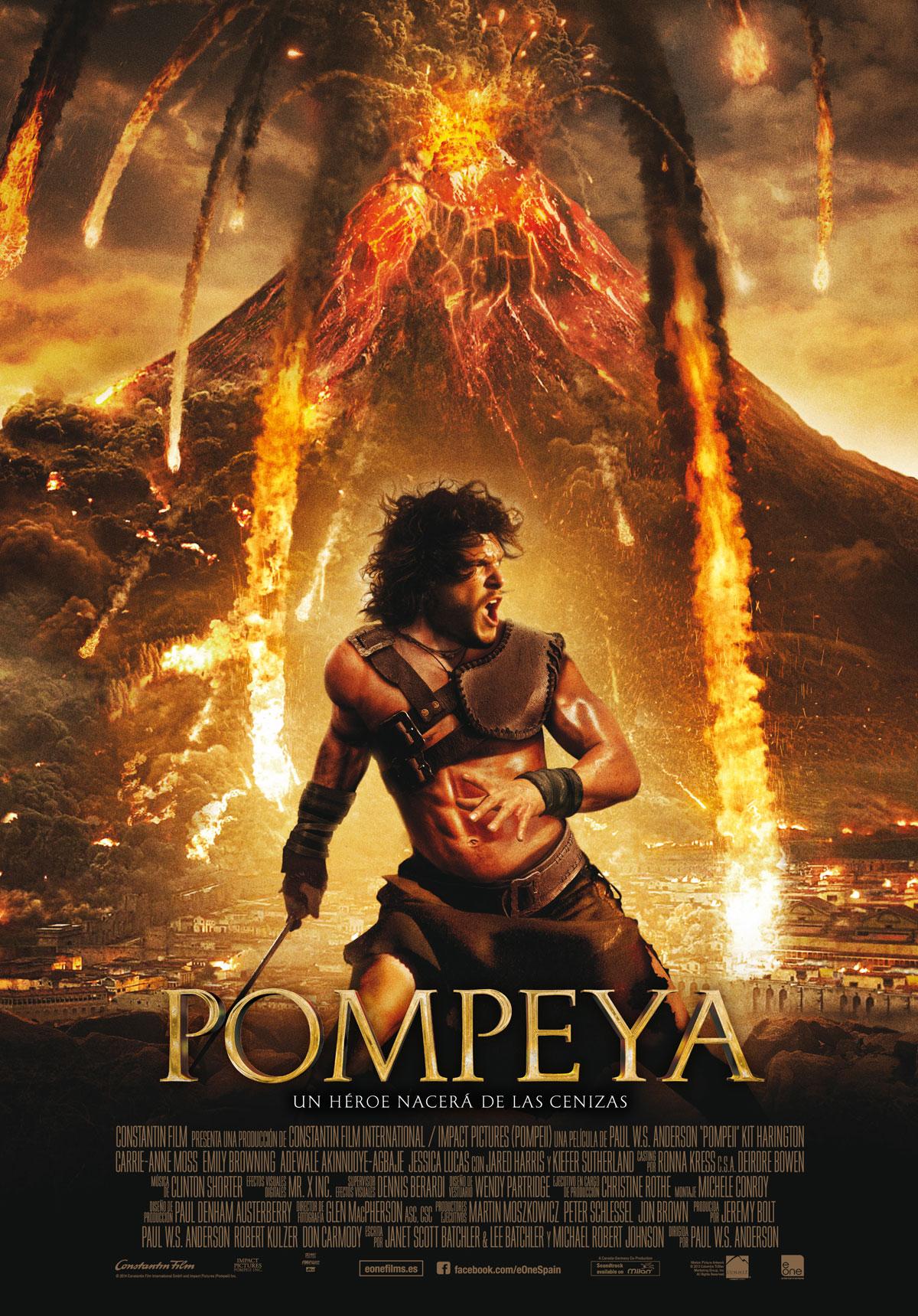 Frase cita película Pompeya quotes Pompeii