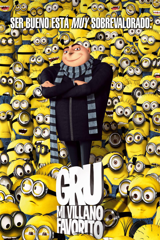 póster de Gru mi villano favorito