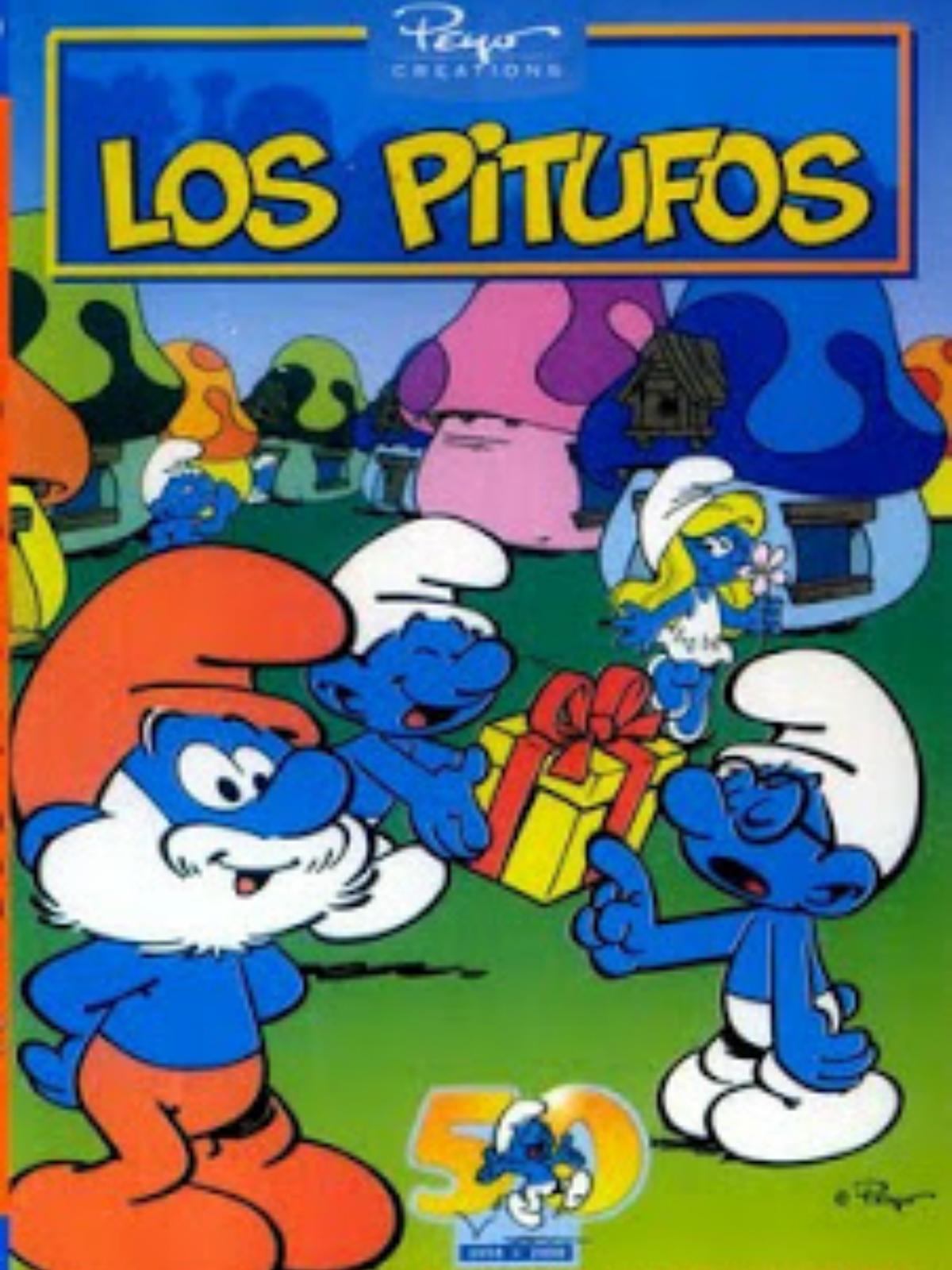Figura Schleich® Los Pitufos 20811 Pitufo Fortachón