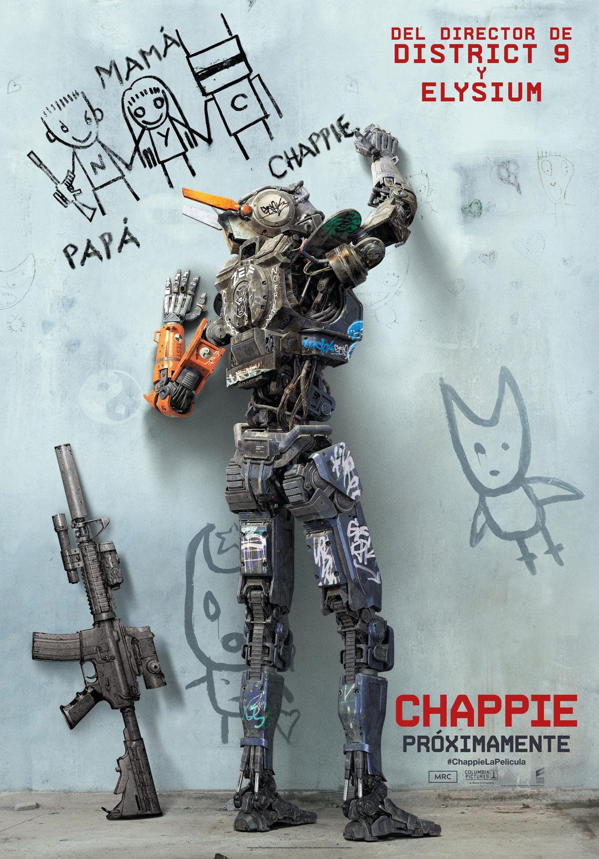 Chappie DVD5 [Latino][2015]