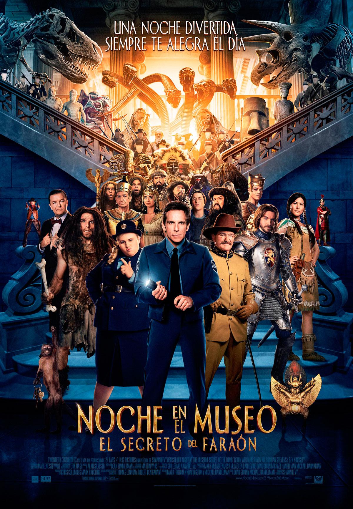 Noche en el museo el secreto del fara n pel cula 2014 for Banda sonora de el jardin secreto