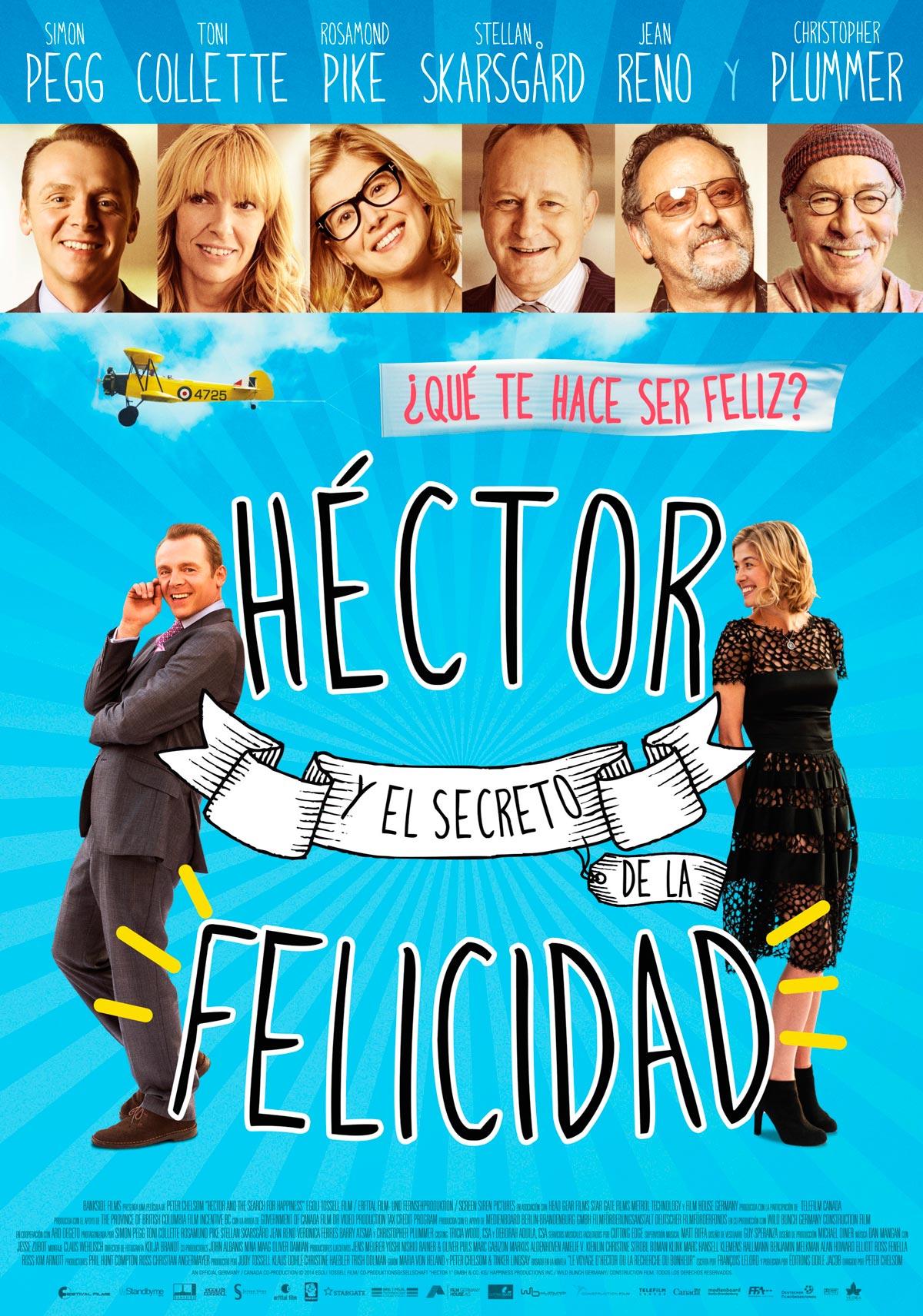 Hector y el secreto de la felicidad pel cula 2014 for Banda sonora de el jardin secreto