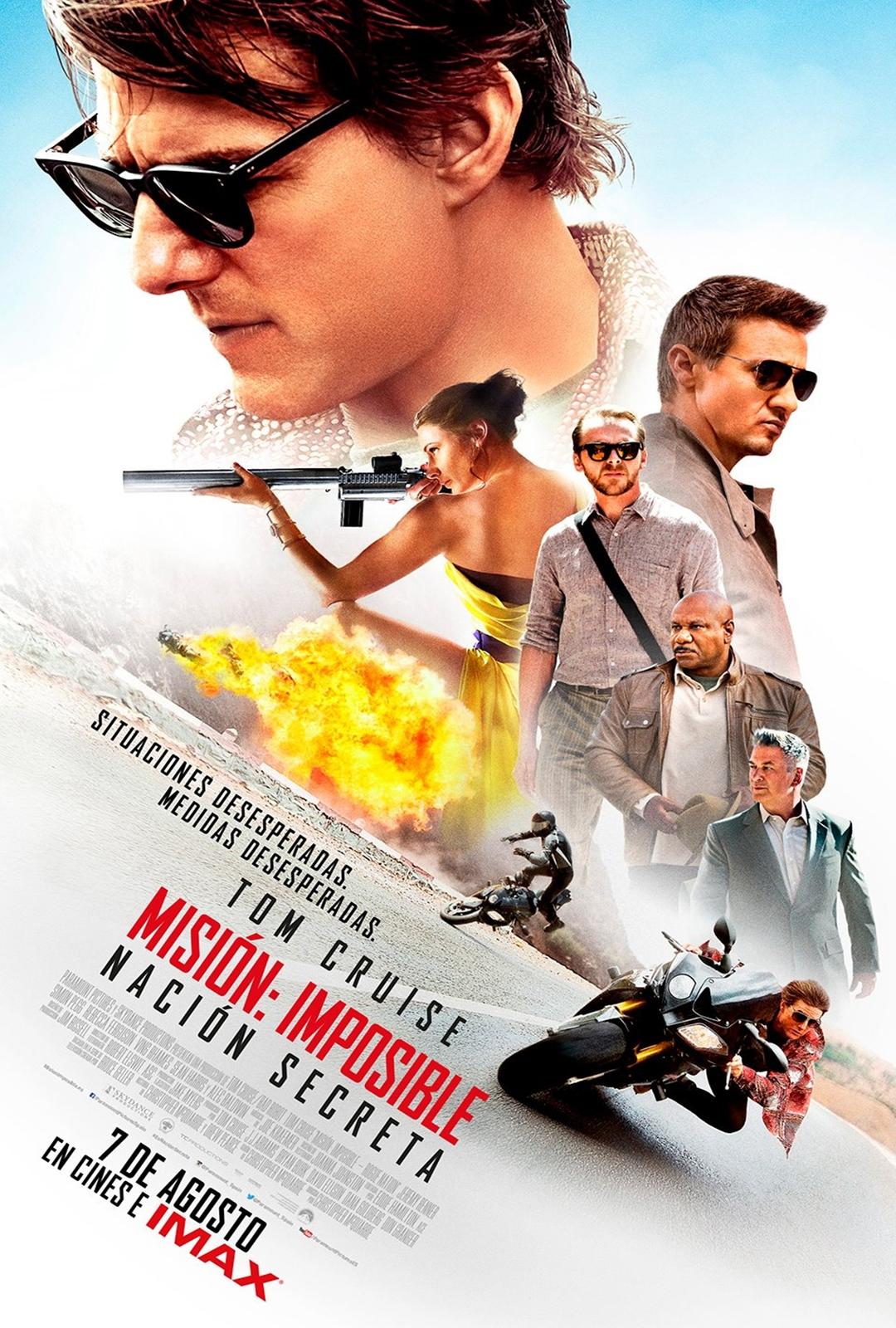 Misión Imposible 5 : Nación secreta - Película 2015 - SensaCine.com
