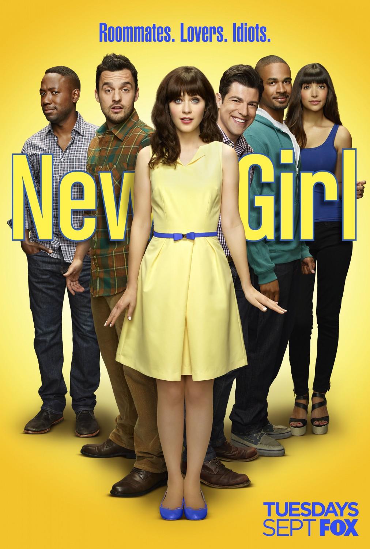 Resultado de imagen de new girl poster