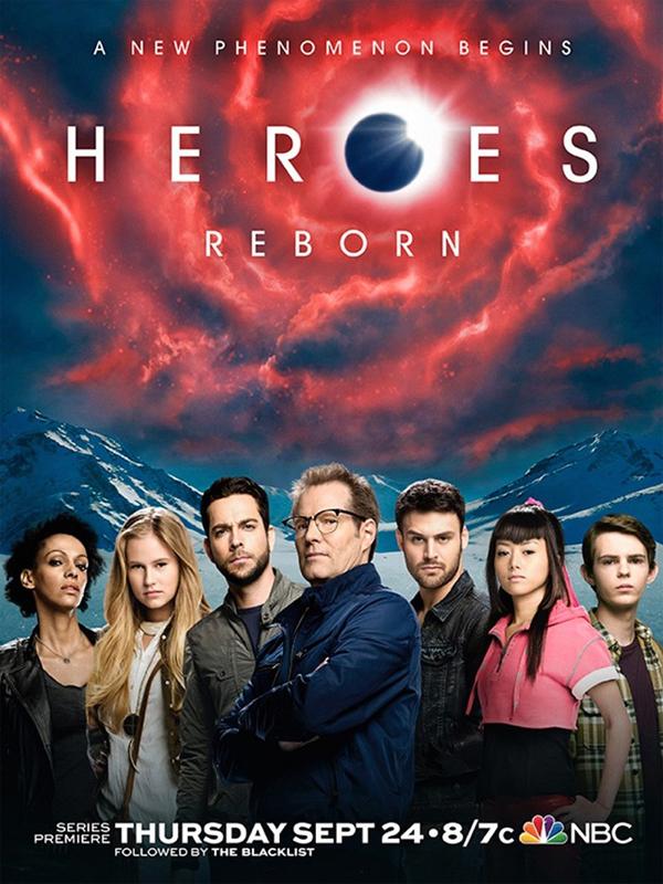 Reparto Heroes Reborn temporada 1 - SensaCine.com