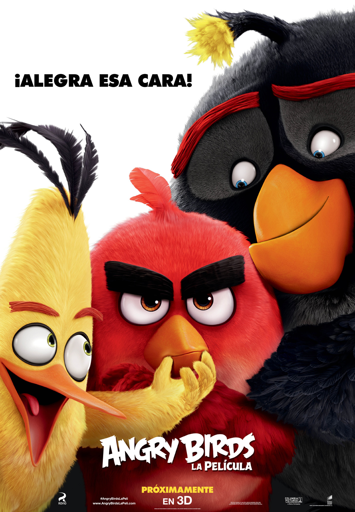 póster angry birds