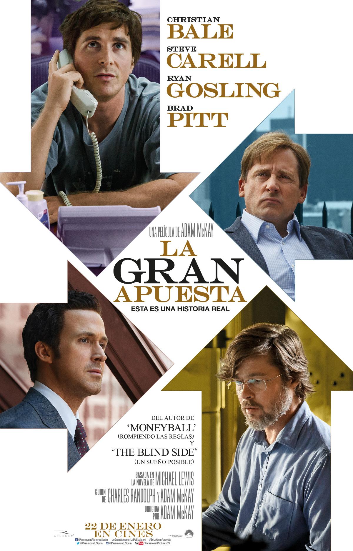 La Gran Apuesta Película 2015 Sensacine Com